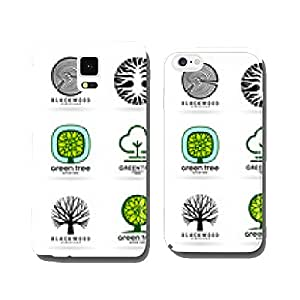 Set of trees (5) cell phone cover case iPhone5