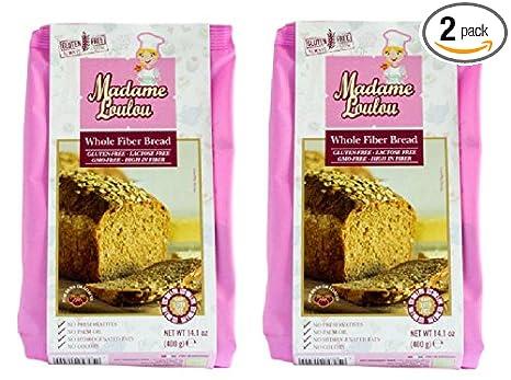Madame Loulou Conjunto Fibra Sin Gluten pan Mix (celiacos ...