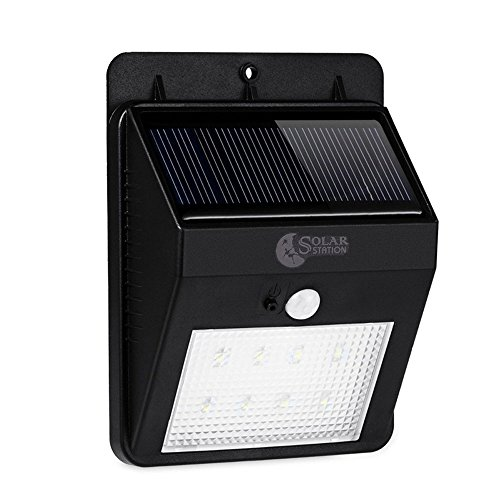 SOLARSTATION 8 LED Solar Motion Sensor Lights