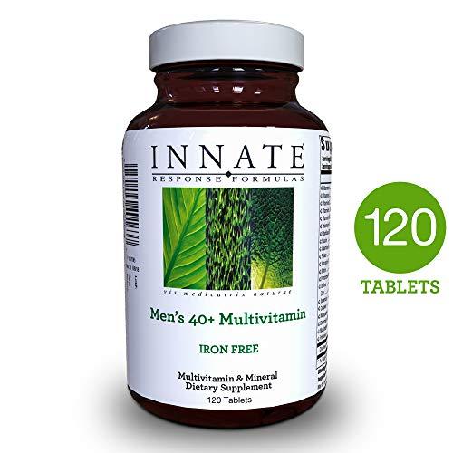 INNATE Response Formulas - Men's 40+ Multi, 120 Tablets (Tabs Iron Free 120)