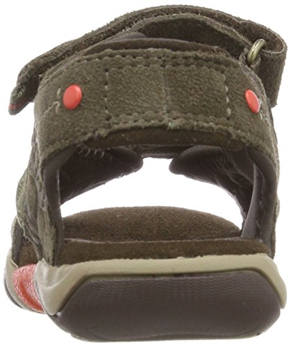 Timberland Park Hopper 2 Strap, Mules Unisex Niños Gris (Canteen Suede 901)