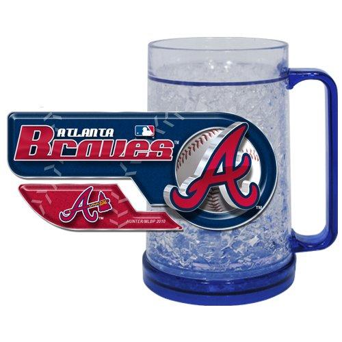 Atlanta Braves Art Glass - 5