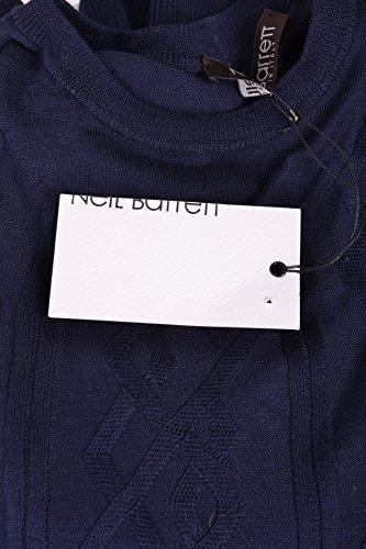 Neil Barrett Homme MCBI220019O Bleu Coton Maille