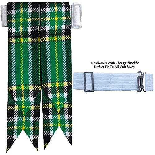 - Irish Heritage Tartan Flash Kilt Hose/Sock Flashes