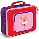 "Crocodile Creek Pocket Lunchbox - Ballerina 10"" x 7.5"""