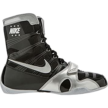 Nike HyperKO MP Boxing Boots Shoes Mid Cut - Grey
