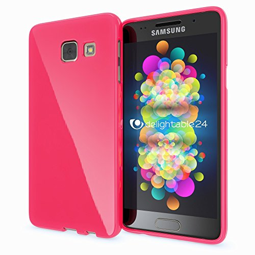Slim Shockproof Case for Samsung Galaxy A5 (Pink) - 4