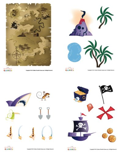 Printable Pirate Treasure Map Pirate Craft For Kids [Download] ()
