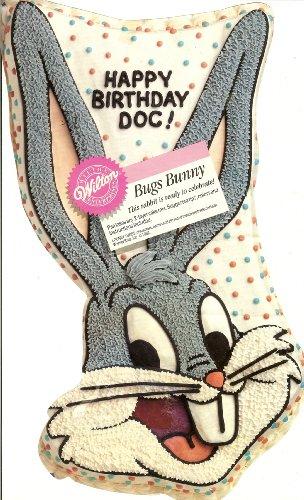 - Wilton Bugs Bunny Face Cake Pan (2105-2553, 1992) Retired Warner Bros. Looney Tunes