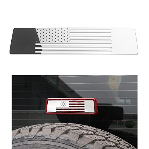 JeCar brake light cover Stainless Steel High Mounted Stop La