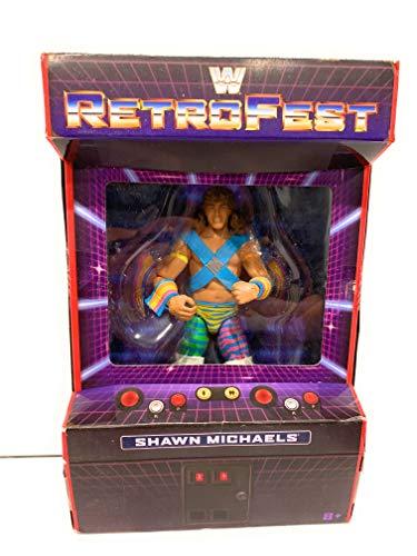 WWE Retrofest Shawn Michaels Exclusive Retro Elite Action Figure (Michaels Wwe Shawn Toy)