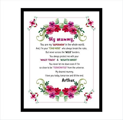 Amazon.com: Personalized Mothers Day Gift, Mom Print for
