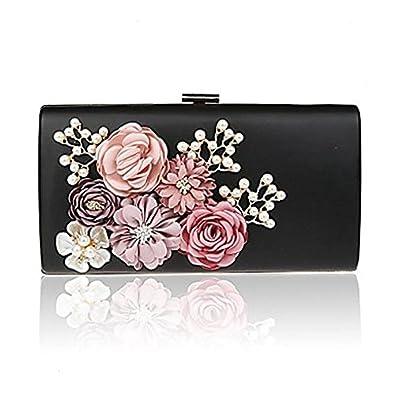 SUNNY KEY-Pochettes et clutches L.west femme de la Corée du Sud fleurs faites à la main sac féminin luxe banquet dîner sac à main , fuchsia