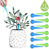 DCZTELG Plant Watering Spike Automatic Garden System Indoor Outdoor Plant Watering Drip Irrigation System Care Your Flowers (12-pack)