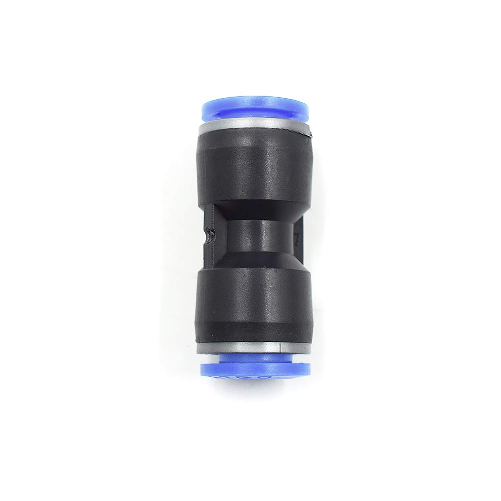 Plastic Push to Connect Fittings Tube Straight Connect 4 Mm to 10 Mm Push Fit Fittings Tube Fittings Push Lock-15 Pcs HONJIE Connect Fittings 3//8 OD