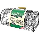 Selfset Multi-Catch Rat Trap (Humane, Durable, Ready-To-Use Rodent Pest Trap, Catches up to 5 Rats for Use Indoors and Outdoors)