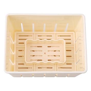 BESTONZON Tofu Maker Press Mold Kit Plastic Tofu Cheese