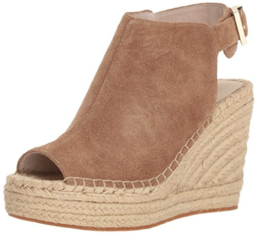 Kenneth Cole New York Women's Olivia Espadrille Wedge Sandal, Desert 7 M US