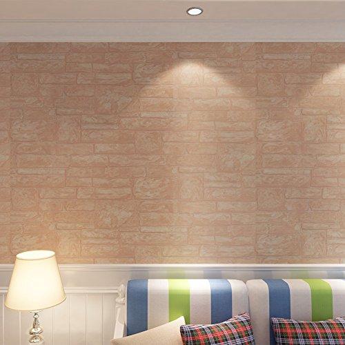 Hanmero-papel-pintado-moderno-imitacin-ladrillo-no-tejido-papel-tapiz-dormitoriossaln053M10M