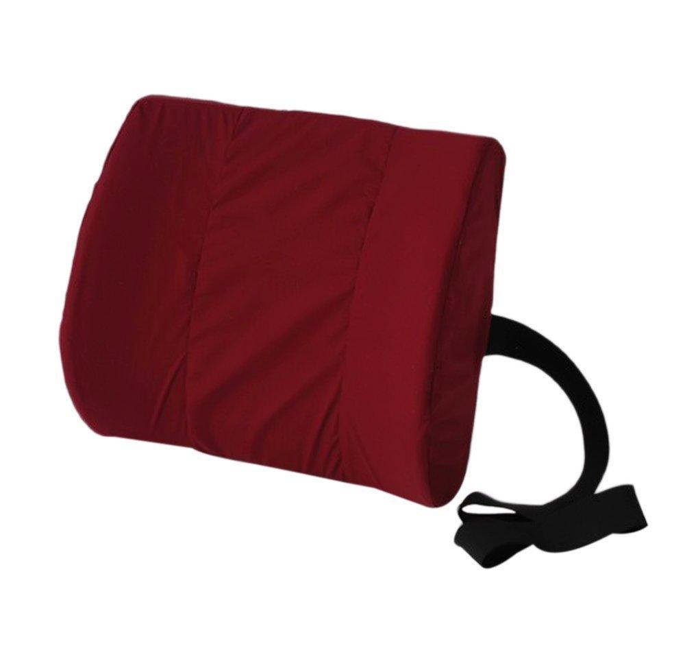 Alex Orthopedic Comfortable Supportive Molded Lumbar Cushion - Black