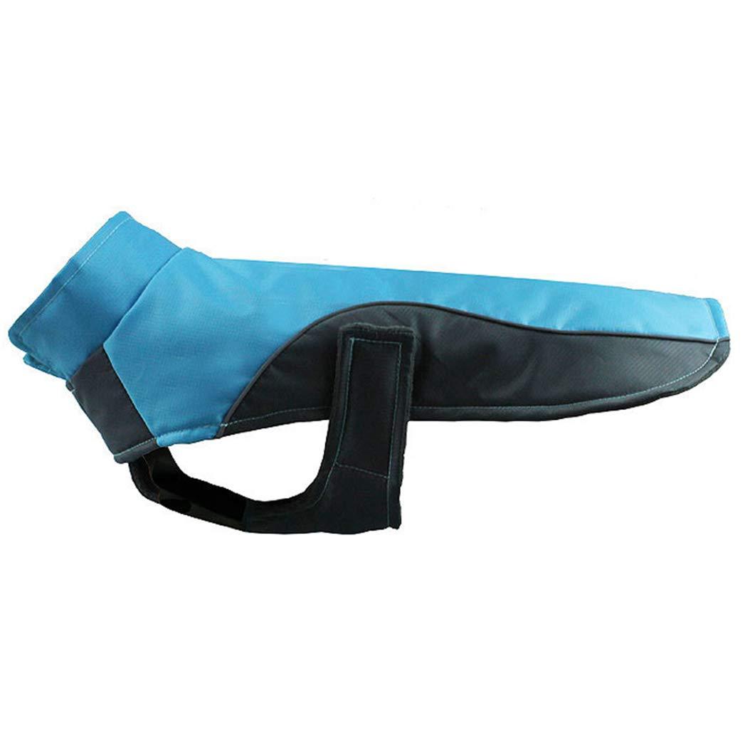 blueE 3XL blueE 3XL SENERY Winter Pet Dog Clothing,Dogs Jacket Oxford Cloth Waterproof Dog Coat Fleece Warm Clothes