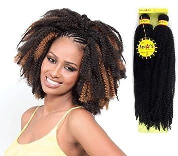 Amazon Com Afro Kinky Braids Rastafri Off Black 1b Hair