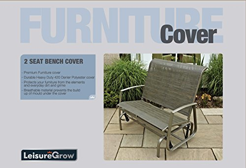 LG Outdoor 2 Seat Bench/Glider Cover - Grey