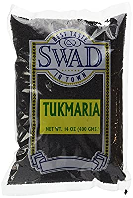 Swad 400gm Tukmaria Sacred Basil Seeds, 14Oz