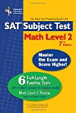 The SAT Subject Test - Math, Research & Education Association Editors, 0738601136