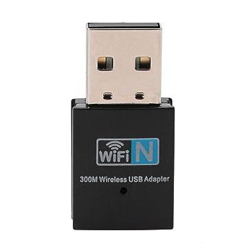 Adaptador de WiFi - WiFi Dongle Mini USB LAN Tarjeta de Red ...