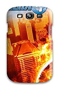 nazi diy For Galaxy Case, High Quality Human Torch For Galaxy S3 Cover Cases