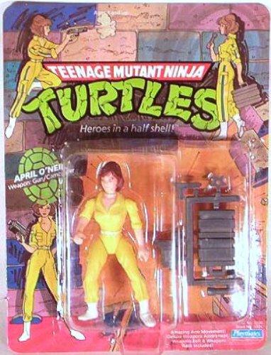 April O Neil Ninja Turtles (Teenage Mutant Ninja Turtles> April O'Neil Original 1988 with Blue Stripe)