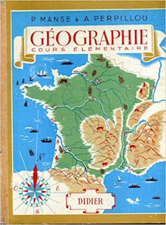 Geographie Cours Elementaire Didier P Manse A