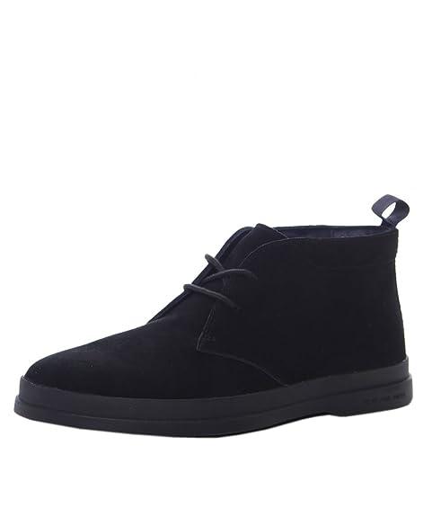 f6acfc5bbac PS by Paul Smith Men's Suede Inkie Chukka Boots Black: Amazon.ca ...