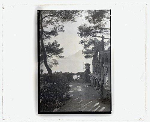 1925 Photo Villa Torre Clementina, Louis Antoine Stern house, Avenue Impératrice Eugénie, Roquebrune- Cap- Martin, Alpes Maritimes, France. View to ruins Location: France