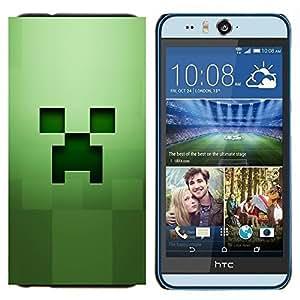 EJOOY---Cubierta de la caja de protección para la piel dura ** HTC Desire Eye M910x ** --Fluencia Verde