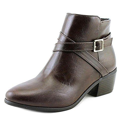 Womens Fashion Ankle Scott Boots Karen Flynne Toe Closed Brown fw7n5Sq