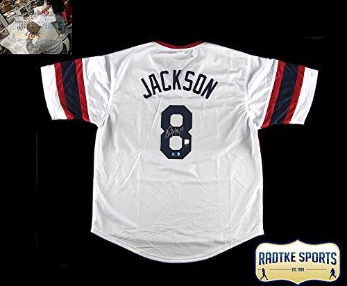 Bo Jackson Autographed/Signed Chicago Throwback Custom Baseball Jersey