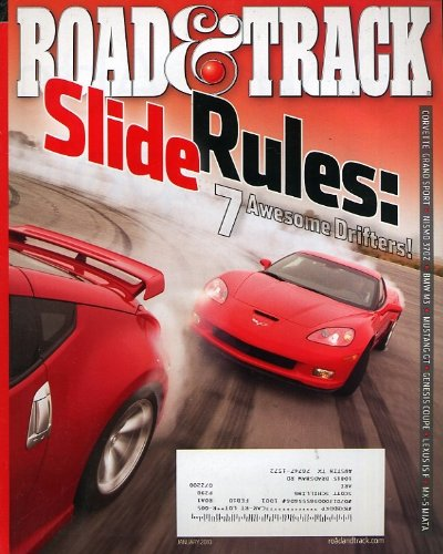 Road & Track January 2010 (Lexus Lambo Doors)