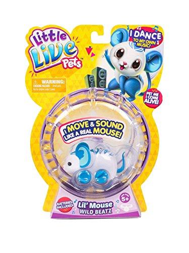Little Live Pets - Lil' Mouse Series 3 - Wild Beatz (P)