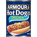 Armour Hot Dog Chilli Sauce, 14 Ounce (Pack of 12)