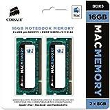 Corsair Apple Certified 16GB (2x8GB)  DDR3 1333 MHz (PC3 10666) Laptop Memory