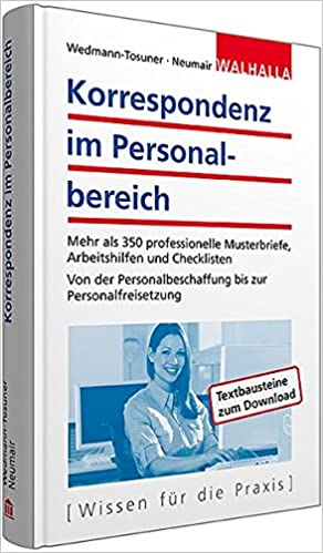 Korrespondenz Im Personalbereich Inkl Textbausteine Zum Download