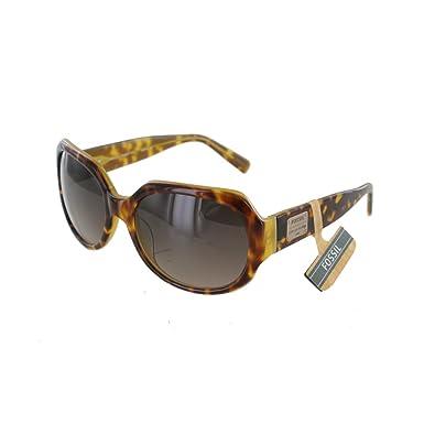 Fossil Damen Sonnenbrille Hadley 2 PS4027, Farbe:schwarz