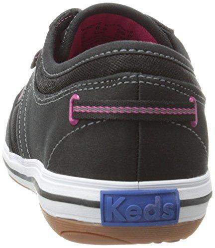 Keds Femmes Craze T-toe Twill Sneaker Noir