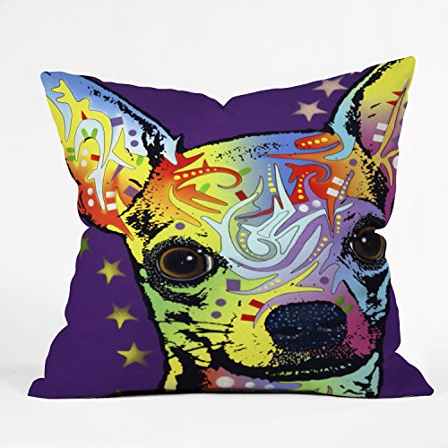 Deny Designs Russo Chihuahua Pillow