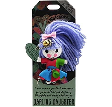 """Watchover Voodoo Doll 3/"""" New Lucky Charm Darling Daughter"""