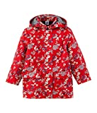 Petit Bateau Girl Japanese Floral Rain Coat in Red, 12Y (59 inches)