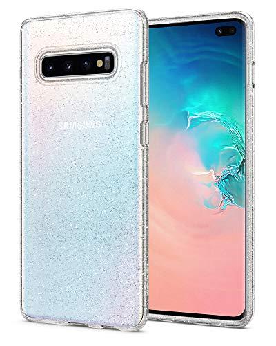 Spigen Liquid Crystal Glitter Designed for Samsung Galaxy S10 Plus Case (2019) - Crystal Quartz