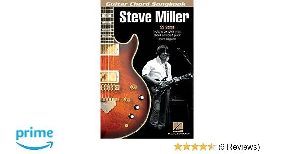 Amazon Steve Miller Guitar Chord Songbook Guitar Chord